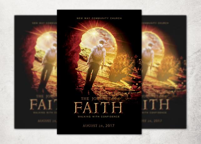 The Journey of Faith Church Flyer