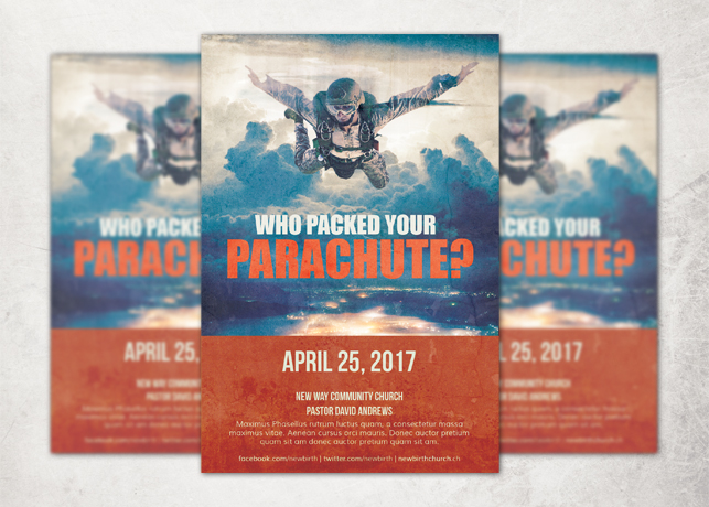 Who Packed your Parachute? Flyer