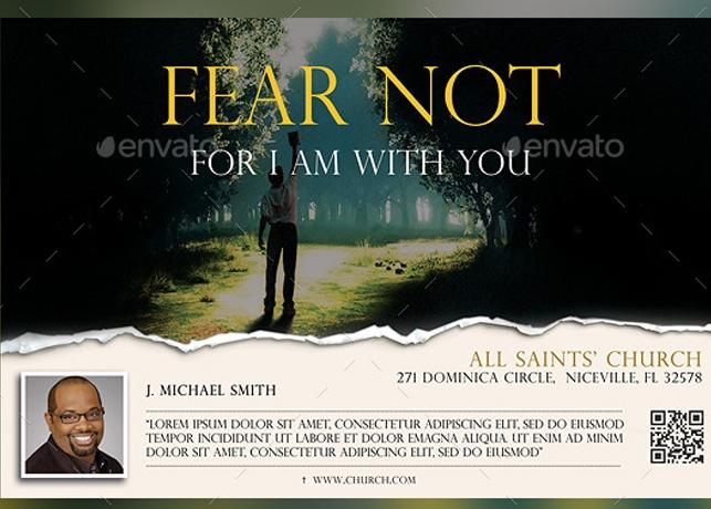 Fear Not Church Flyer Template
