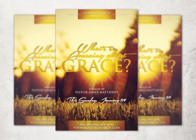 Grace Church Flyer Template