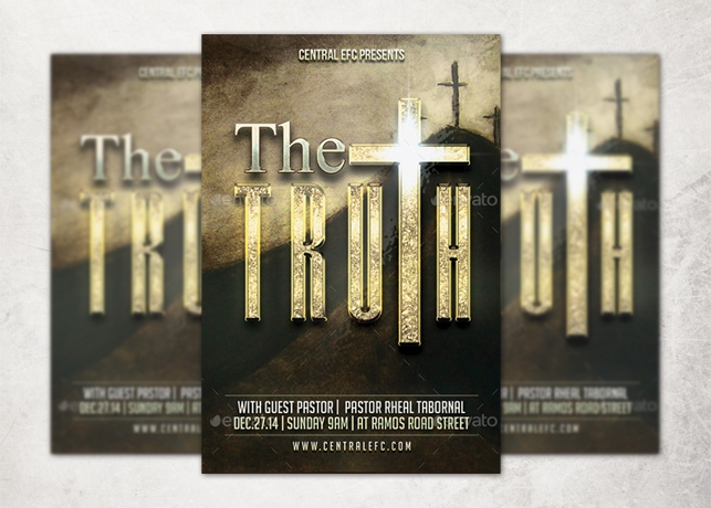 The Truth Church Flyer Template
