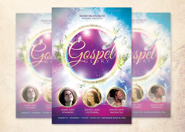 Gospel Glory Church Flyer