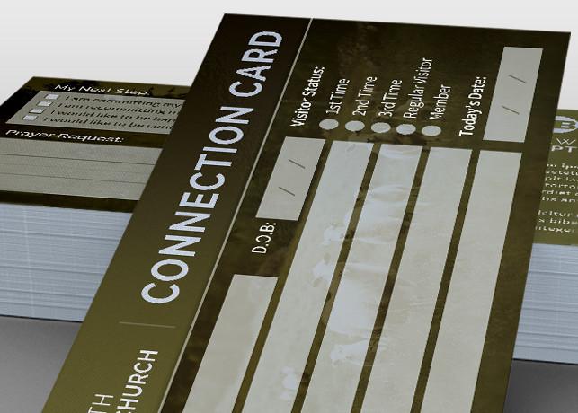 Sheep Church Connection Card