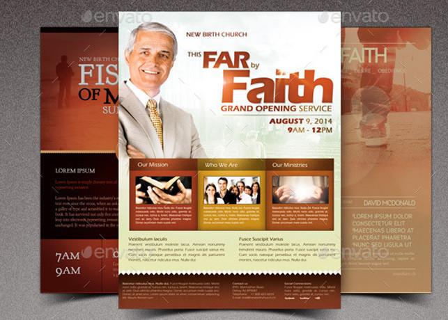 Faith Church Marketing Flyer Bundle