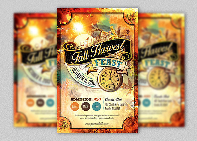 Fall-Harvest-Feast-Flyer-Template