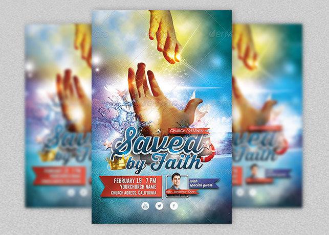 Church Saved by Faith Flyer