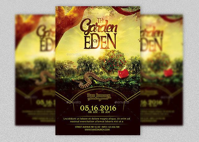Garden Of Eden Church Flyer
