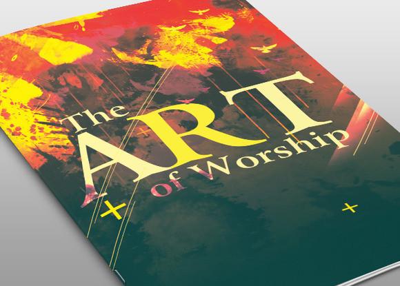 The Art of Worship Church Bulletin