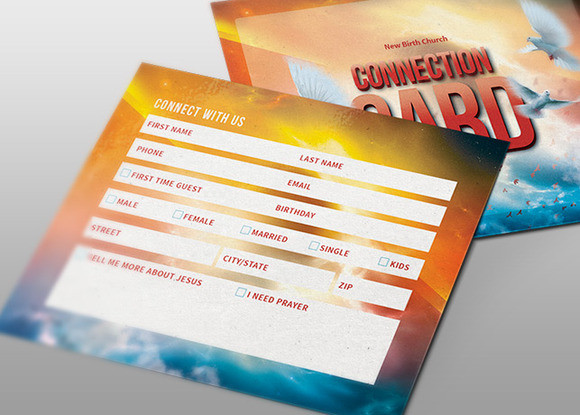 Shout Church Connection Card