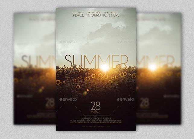Church Summer Concert Poster