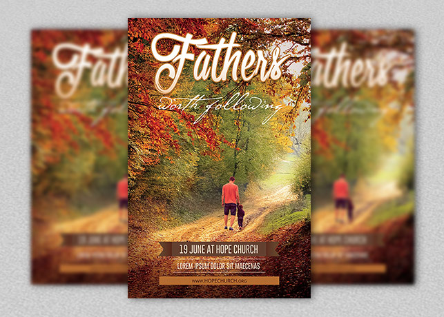 Fathers Day Flyer and Poster
