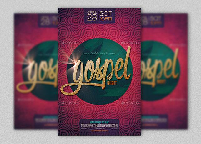 Gospel Night Poster