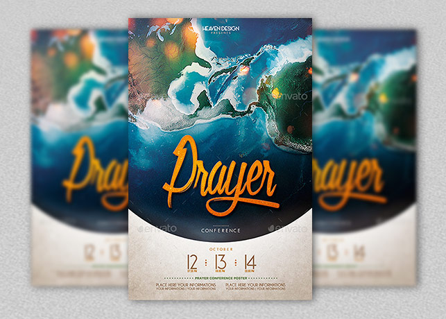 Prayer Conference Poster