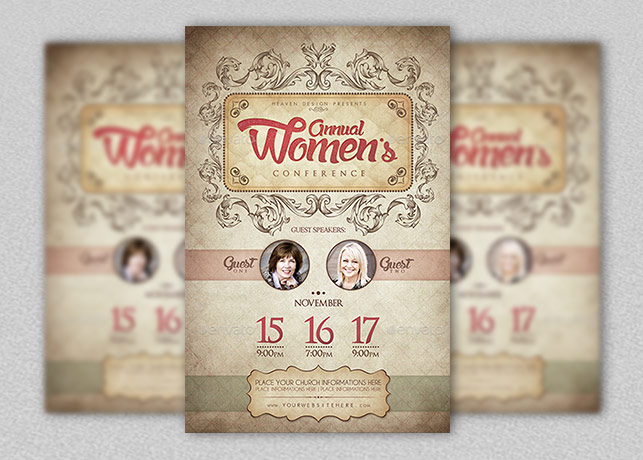 Women`s Conference Poster