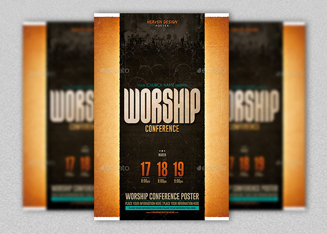 Worship Conference Poster