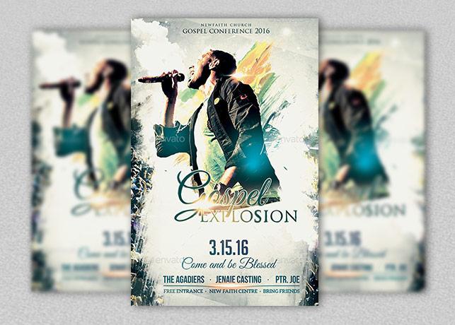 Gospel Explosion Conference 2016 Flyer