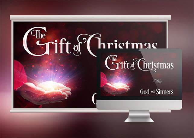 Christmas Sermon Slide Template