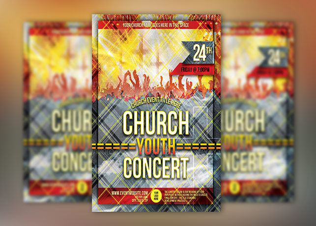 Church Group Concert Flyer Template