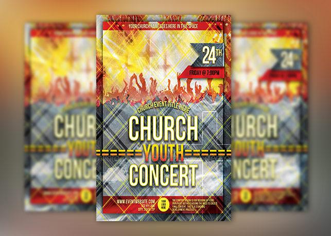Church Group Concert Flyer Template