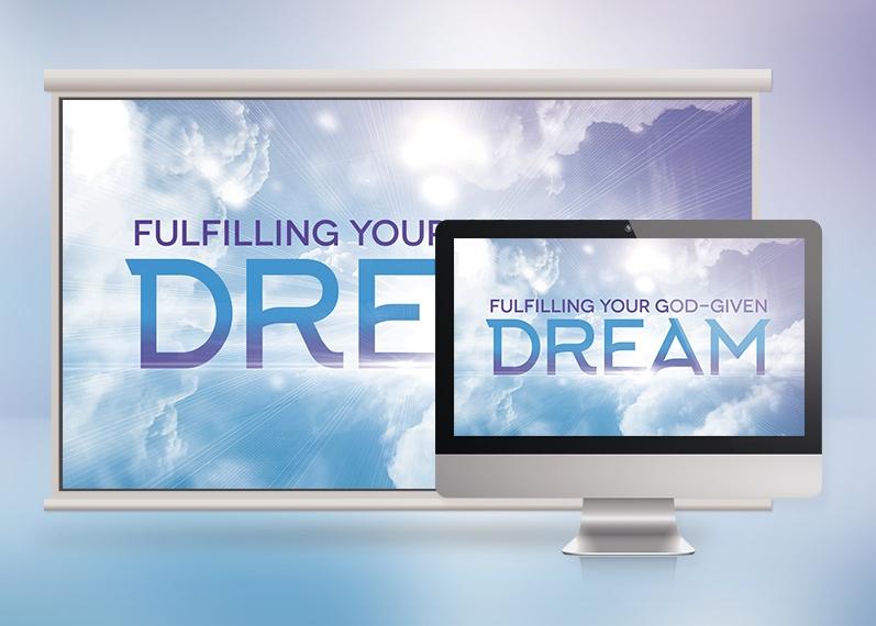 Dream Church Sermon Slide Template
