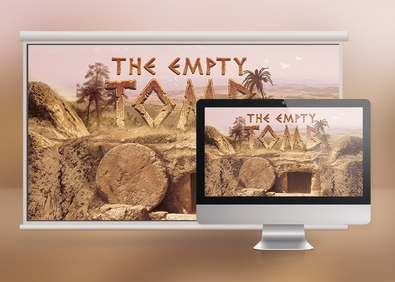 Empty Tomb Slide Template