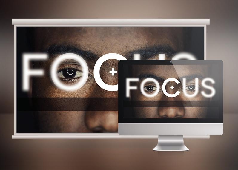 Focus Church Sermon Slide Template