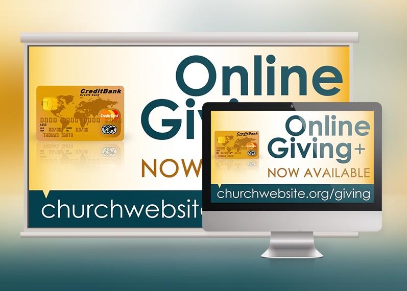 Online Giving Slide