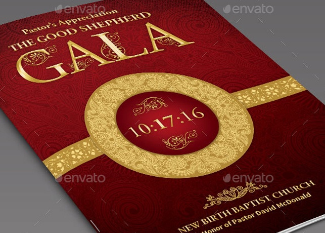This is one of your items. Pastor Appreciation Event Program Template - Informational Brochures Share Facebook Google Plus Twitter Pinterest Add to Favorites Add to Collection Pastor Appreciation Event Program Template
