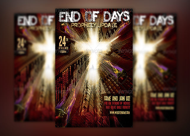 Prophecy Church Flyer Template