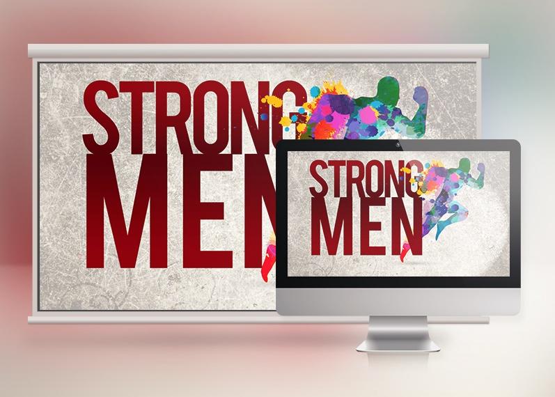 Strong Men Slide