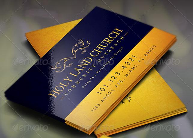 Church Scripture Card Template