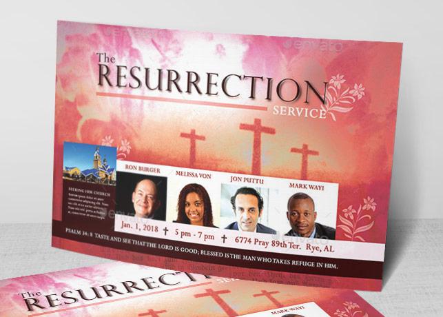 Resurrection Flyer Template
