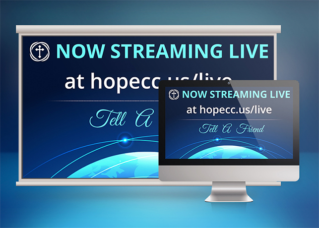 Church Streaming Slide Photoshop Template