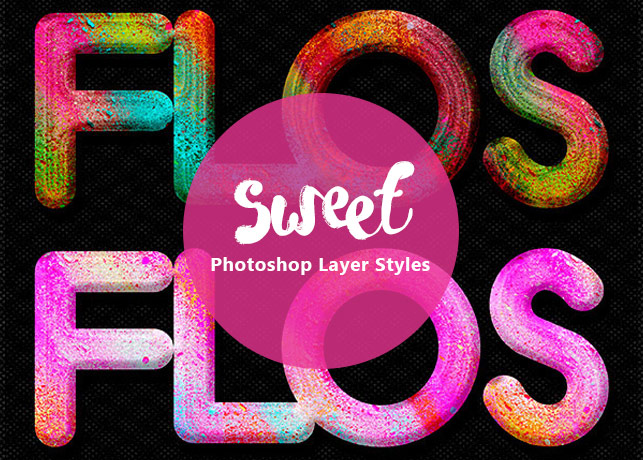 Candy Photoshop Layer Styles
