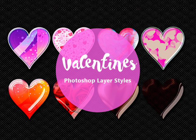 Valentines Photoshop Layer Styles