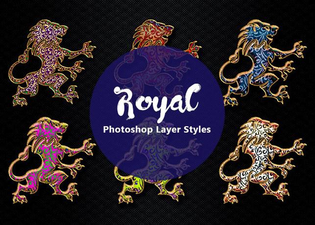 Royal Decorative Photoshop Layer Styles