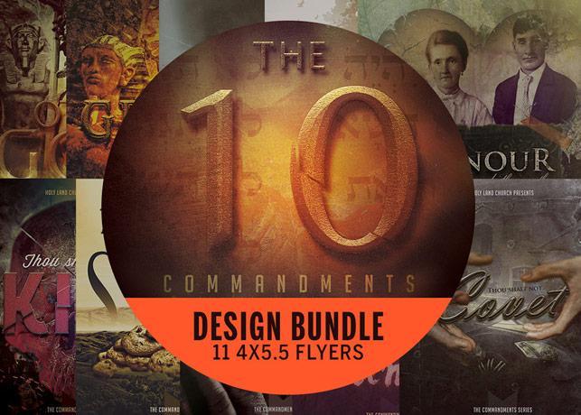 Ten Commandments Flyer Bundle