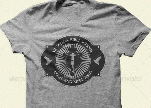Vacation Bible School Tshirt Template