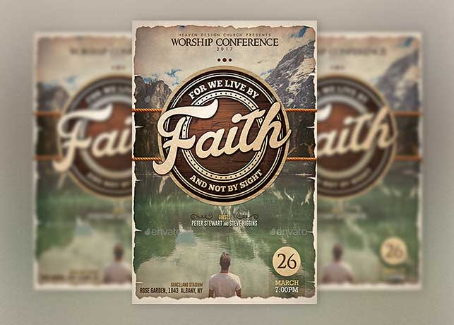 Faith Conference Poster Template