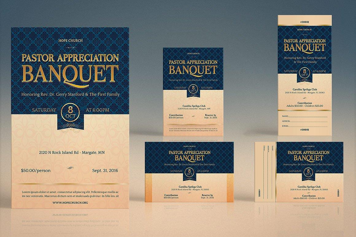 Pastor Appreciation Event Template Kit