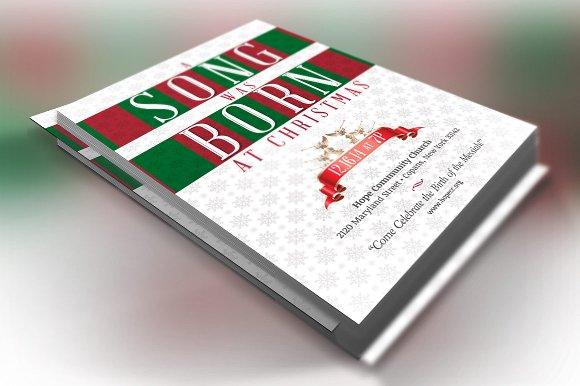 Christmas Musical Invitation Template