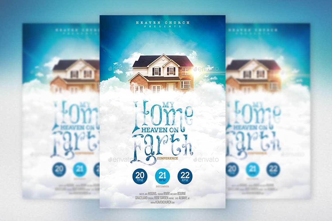 Home Heaven Earth Poster