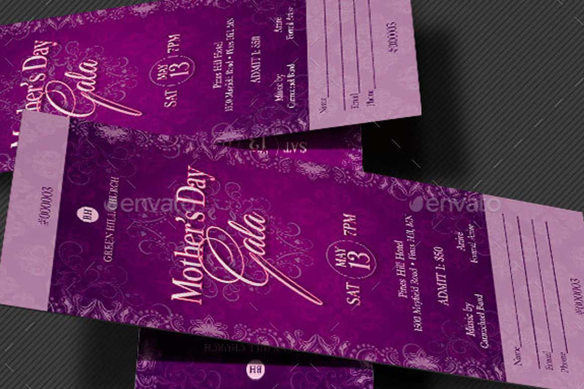 Lavender Mothers Day Gala Ticket