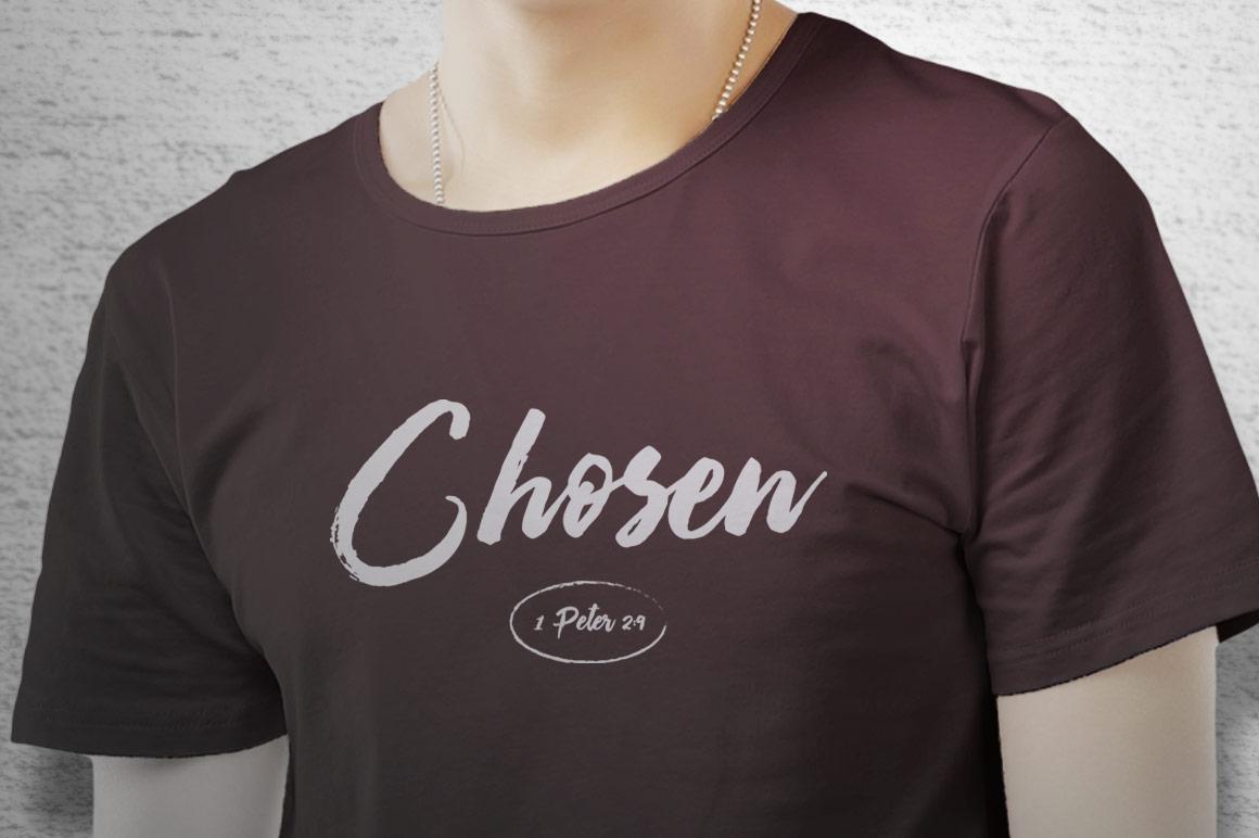 Chosen T-Shirt Artwork Template