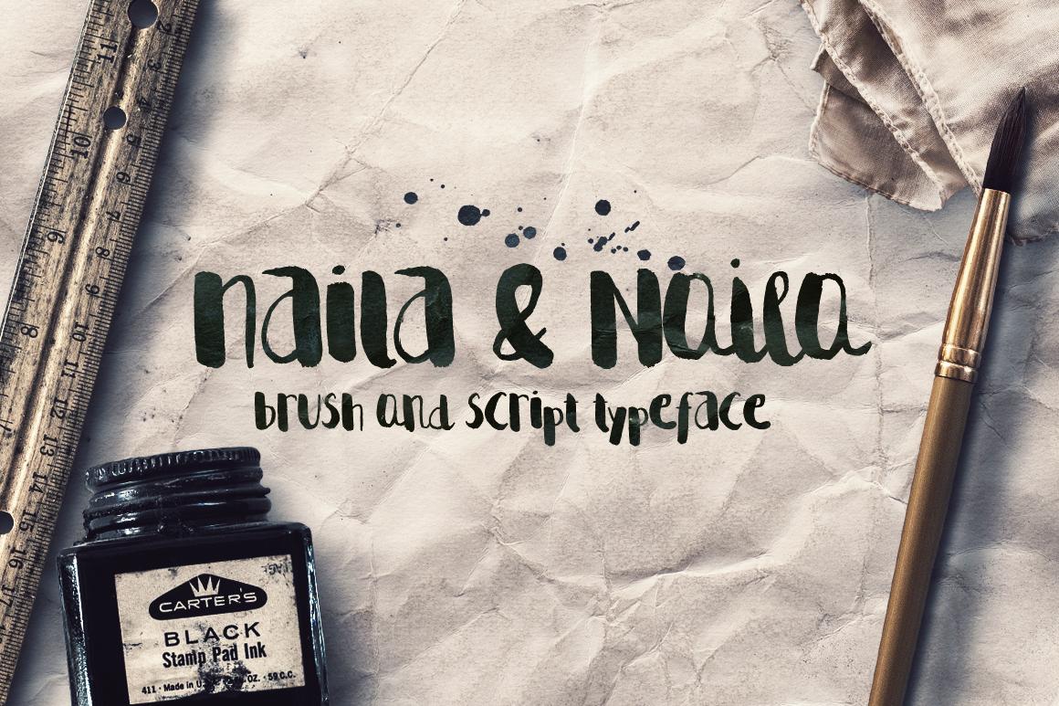 Naila Script Typeface