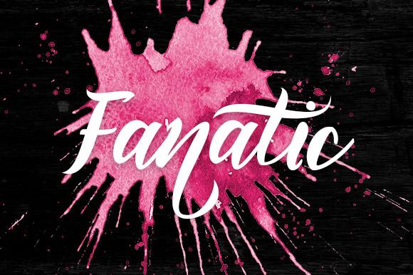 Fanatic Font Lite Version