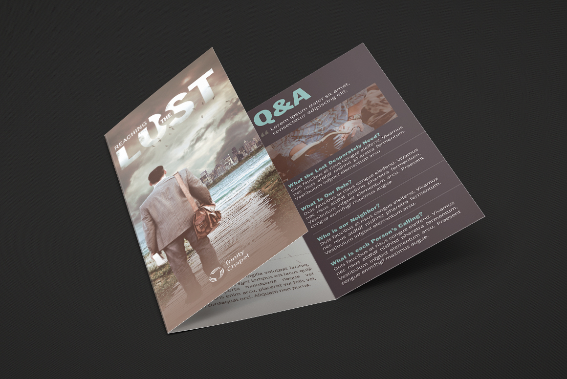 Missions Conference Tri-Fold Brochure Templat