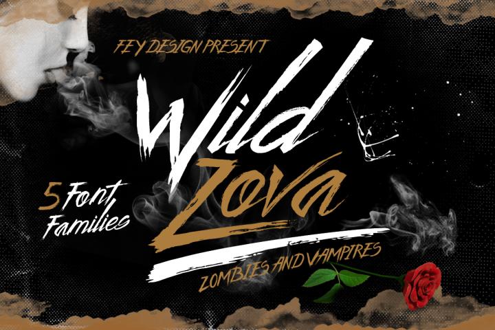 Wild Zova Font Family