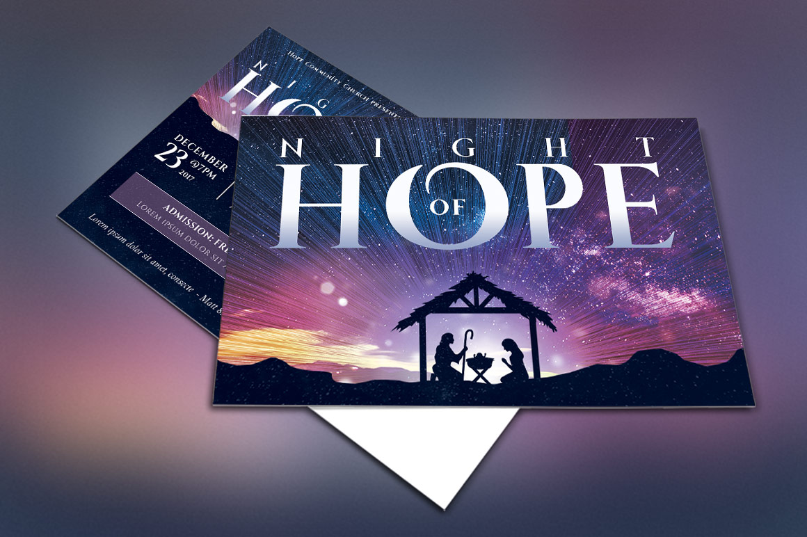 Christmas Hope Cantata Postcard