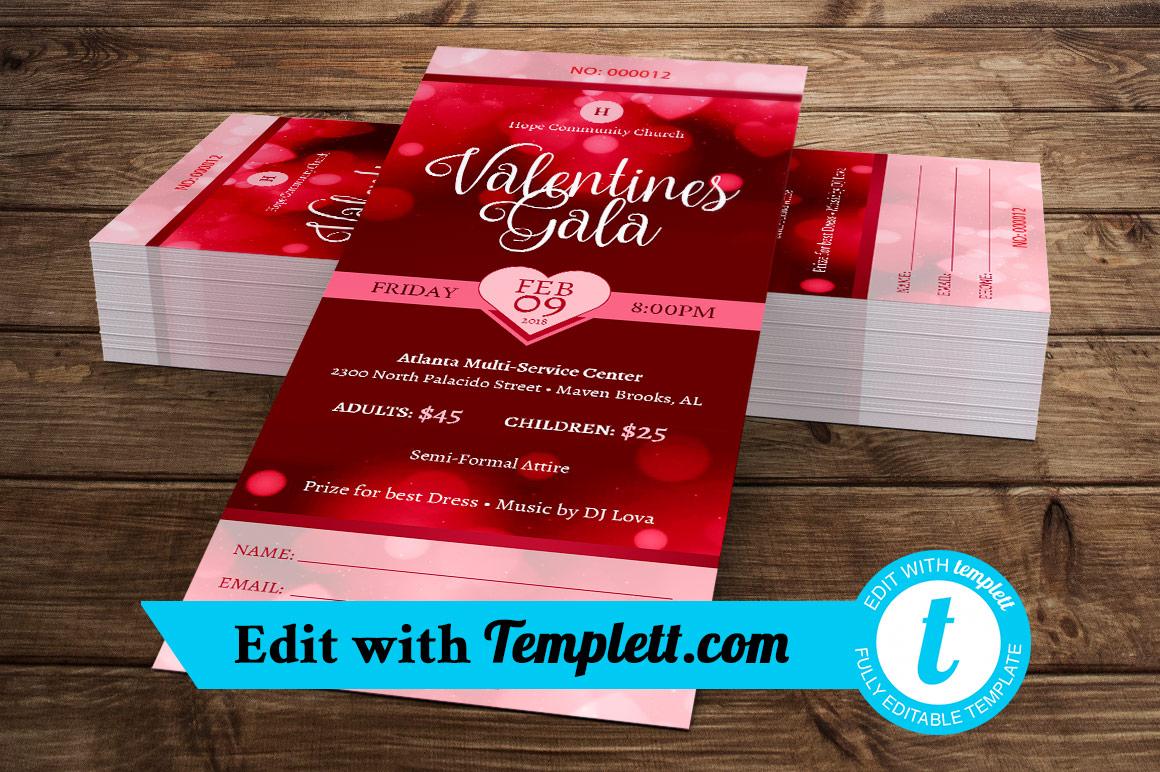 Valentines Gala Ticket